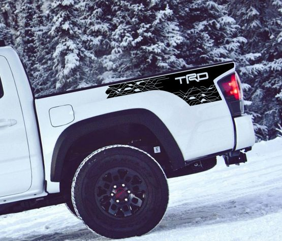 Tacoma Bed Decal D