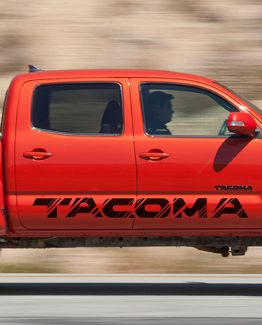Tacoma Side Decal A