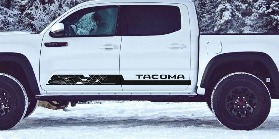 Tacoma Side Decal D