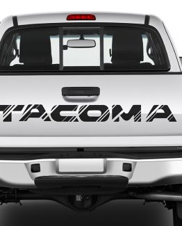 Tacoma Tail Decal A