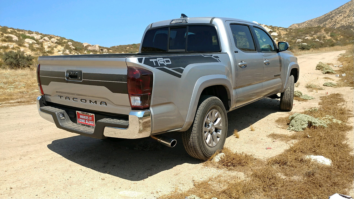 TRD SPORT Decals Toyota Tundra Tacoma Truck Bed Vinyl Stickers
